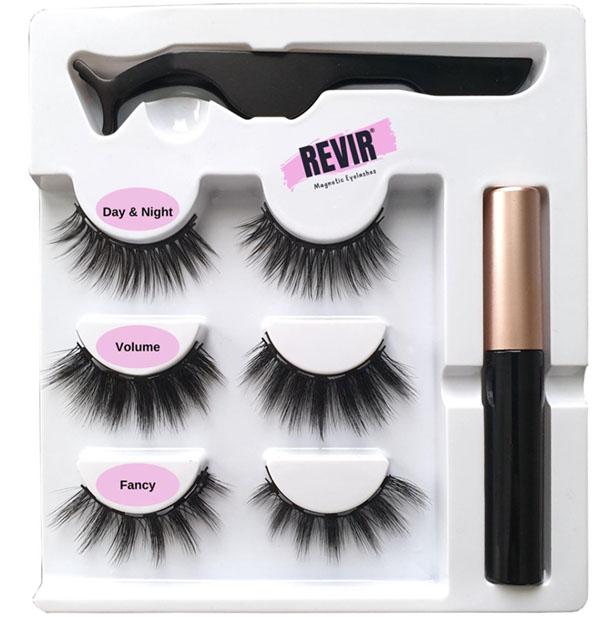 Revir Wimpers Magnetisch Set Met Eyeliner